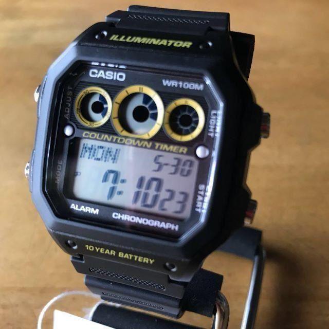 CASIO - 【新品】カシオ CASIO クオーツ メンズ 腕時計 AE-1300WH-1Aの通販 by 遊☆時間's shop|カシオならラクマ