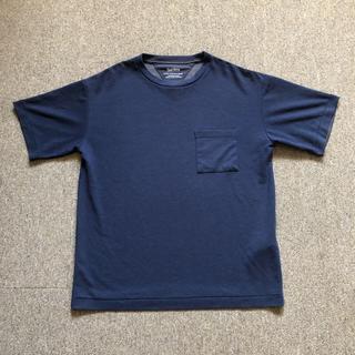 ドアーズ(DOORS / URBAN RESEARCH)のURBANRESEARCH Tシャツ ネイビー M(Tシャツ/カットソー(半袖/袖なし))