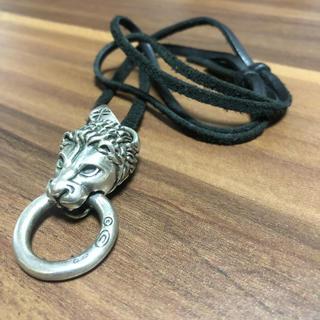 ガボール(Gabor)のシルバー ライオン ペンダントヘッド ネックレス(ネックレス)