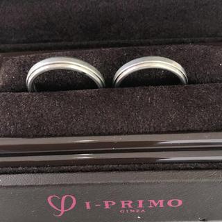 ジュエリーマキ(ジュエリーマキ)のpt900 ペアリング I-PRIMO 銀座 5.7g 5.5g (リング(指輪))