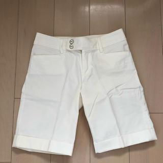 ザジ(ZAZIE)の白ホワイト  ショートパンツ(ショートパンツ)