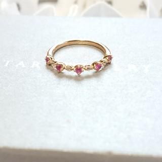 スタージュエリー(STAR JEWELRY)のstar jewelry  ピンクサファイア ピンキーリング(リング(指輪))