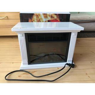 暖炉型ファンヒーター ミニ 電気式暖炉  暖炉 温風ヒーター おしゃれ 暖房器具
