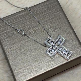 ダミアーニ(Damiani)のwhite gold  cz diamond original necklace(ネックレス)
