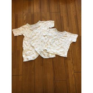 ニシマツヤ(西松屋)の新生児肌着 60(肌着/下着)
