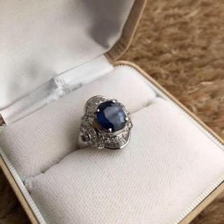 ジュエリーマキ(ジュエリーマキ)のサファイア&ダイヤモンド リング(リング(指輪))