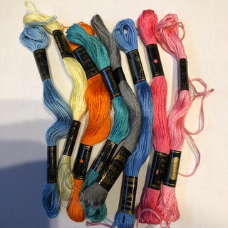 オリンパス(OLYMPUS)のオリンパス刺繍糸  ③ 色々まとめて  (生地/糸)