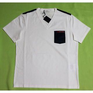 893ce4401ed7 プラダ Vネック Tシャツ・カットソー(メンズ)の通販 36点   PRADAの ...