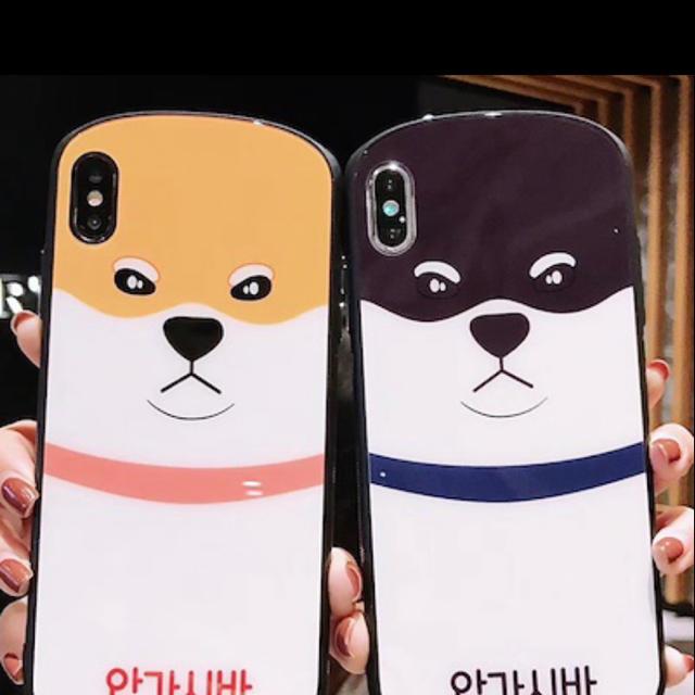 iphone8 プラス ケース 手帳 型 かわいい 、 海外限定 Xr Xs Xs max 柴犬 犬 いぬ 動物 シンプル の通販 by LA James SHOP|ラクマ