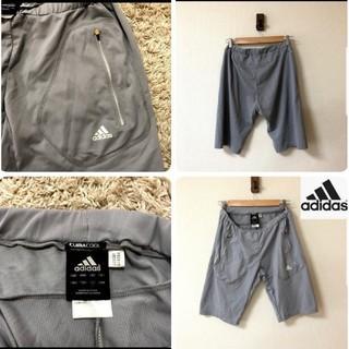 アディダス(adidas)の【adidas】アディダス ジャージ ハーフパンツ Lサイズ(ハーフパンツ)