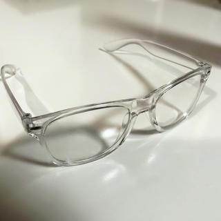 ZARA - サングラス クリアフレーム  透明フレーム 韓国 BTS 伊達眼鏡 dude9