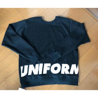 ユニフォームエクスペリメント(uniform experiment)のuniform experiment 4WAY ウールクルーネックカットソー(スウェット)