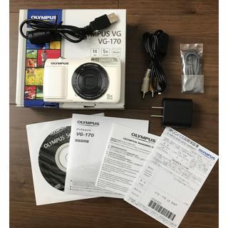 オリンパス(OLYMPUS)のOLYMPUS  VG-170  デジカメ(コンパクトデジタルカメラ)