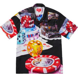 シュプリーム(Supreme)のSupreme Casino Rayon Shirt Black(シャツ)