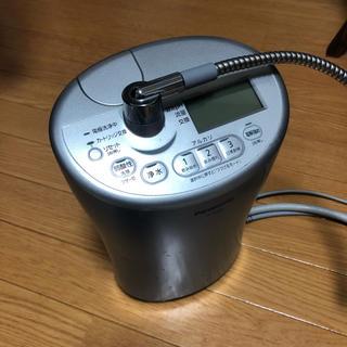 パナソニック(Panasonic)のアルカリイオン整水器 アルカリイオン水 Panasonic TK-AS44 青(浄水機)