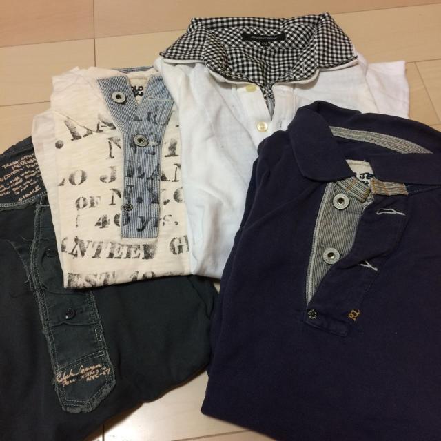 DIESEL(ディーゼル)のトップスセット メンズのトップス(ポロシャツ)の商品写真