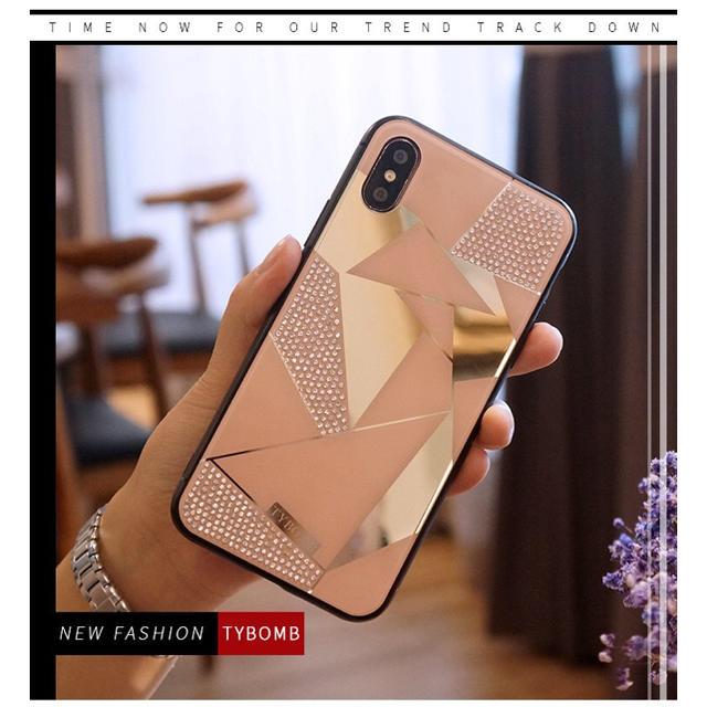 グッチ iphonexr ケース 革製 | 新作&人気!iPhoneX/iPhoneXs  キラキララインストーン カバーの通販 by yukino'shop|ラクマ