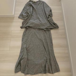 エンフォルド(ENFOLD)のENFOLD エンフォルド カットソー スカート セット(Tシャツ(半袖/袖なし))