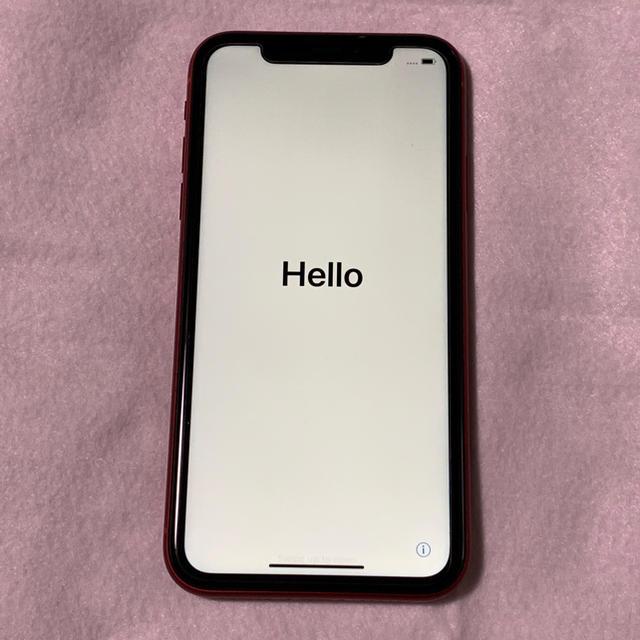 携帯 ケース iphone8 韓国 / Apple - iPhone XR 128GB RED SIMフリーの通販 by AVG's shop|アップルならラクマ