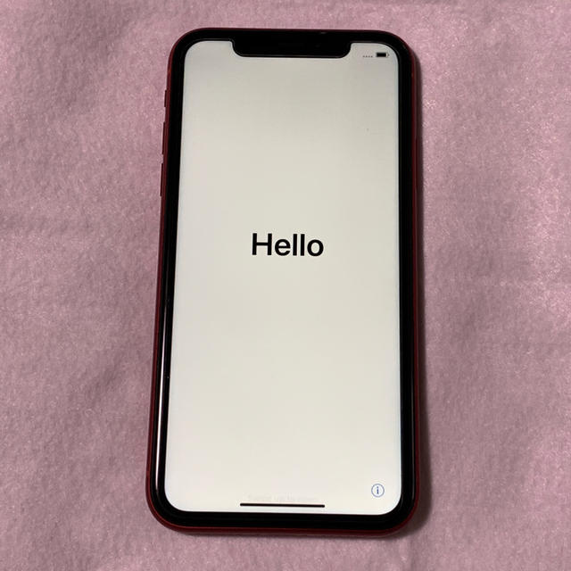 Apple - iPhone XR 128GB RED SIMフリーの通販 by AVG's shop|アップルならラクマ