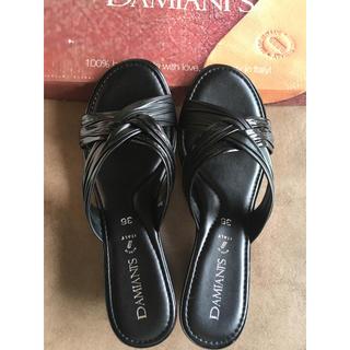 ダミアーニ(Damiani)の新品 DAMIANI'S ダミアーニ  ウェッジサンダル(サンダル)