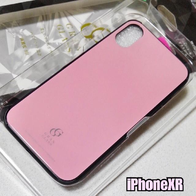 アイフォン xs max 手帳 型 ケース | iPhoneXR ケース 高硬度9Hガラス使用 ハイブリッド ピンクの通販 by ASUKA's shop|ラクマ