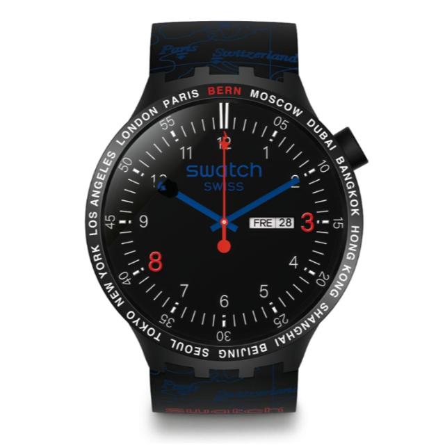 腕時計 格安 ブランド | A BATHING APE - 即納 国内正規 BAPE SWATCH BIG BOLD BERN の通販 by RM's shop|アベイシングエイプならラクマ
