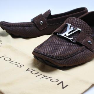 ルイヴィトン(LOUIS VUITTON)のLouis Vuitton ルイヴィトン ドライビングシューズ ローファー 6 (スリッポン/モカシン)