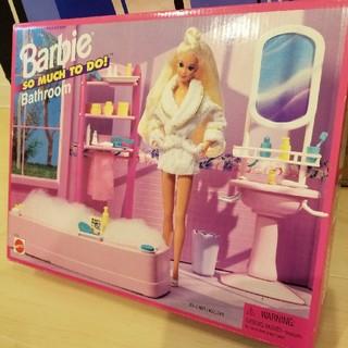 バービー(Barbie)のバービー人形用 バスルームセット(その他)