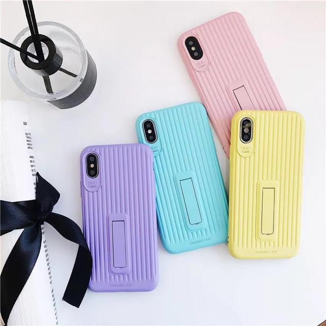 ▲再入荷▲  iPhoneケース スーツケース風  ピンキーカラー 高品質の通販 by Annの雑貨's shop|ラクマ