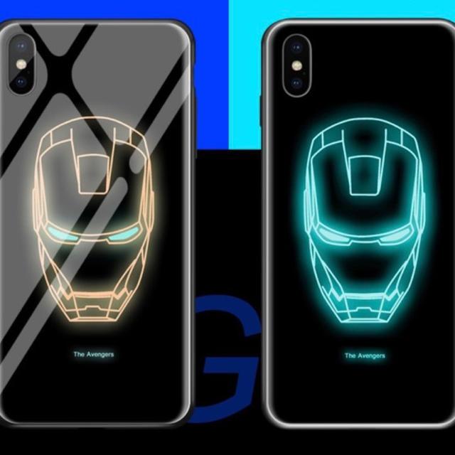 アイアンマン、iPhoneケースXR. XS.対応の通販 by BANC's shop|ラクマ