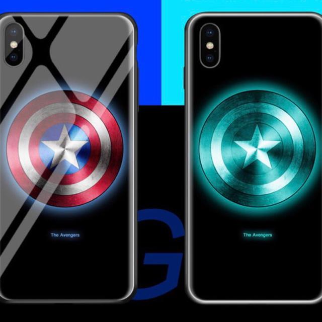 キャプテンアメリカ、iPhoneケース XR. XS.対応の通販 by BANC's shop|ラクマ