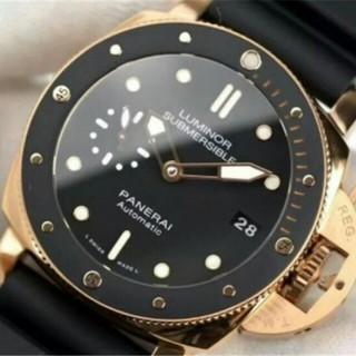 c919d6540a PANERAI - 美品 パネライ ルミノール 手巻き 人気 メンズ 腕時計 SS 45mm