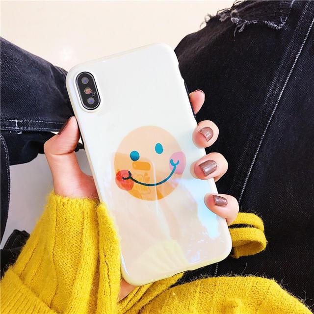♡新入荷♡ iPhoneケース スマイル シンプルの通販 by Annの雑貨's shop|ラクマ