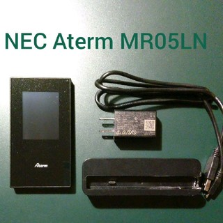 エヌイーシー(NEC)のNEC Aterm MR05LN(PC周辺機器)