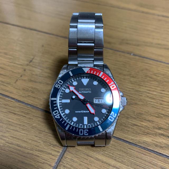 SEIKO - 7S26-0050 SKX023 ペプシベゼル ドーム風防カスタムの通販 by inalda's shop|セイコーならラクマ