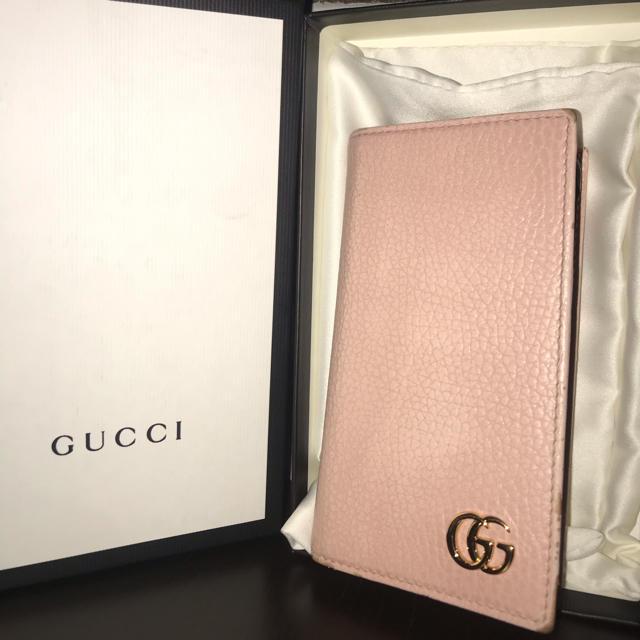 Gucci - 最終値下げ GUCCI iPhone7/8 手帳型ケース Marmont ピンクの通販 by HARU's shop|グッチならラクマ
