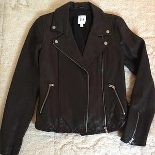 ギャップ(GAP)のGAP 革のジャケット(ライダースジャケット)