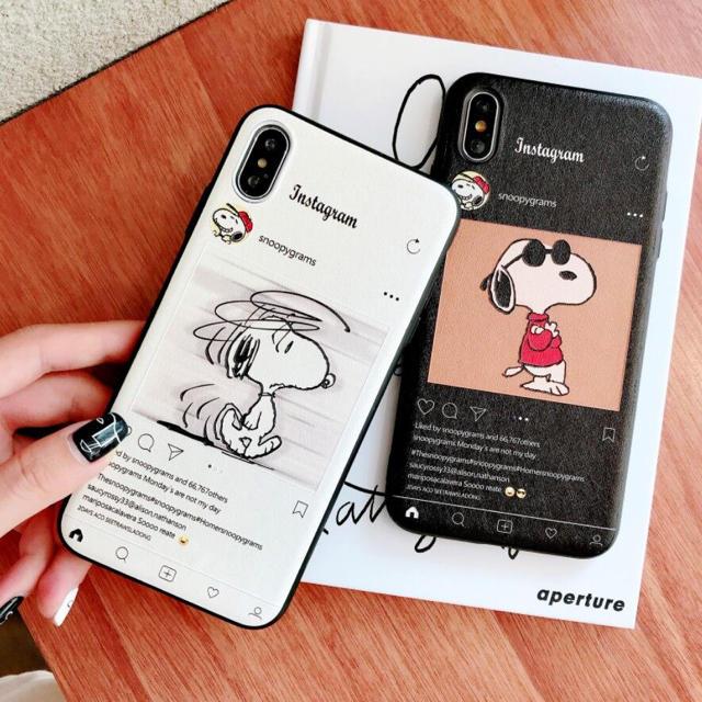 iphoneケース スヌーピーの通販 by ゆり's shop|ラクマ
