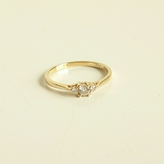 アガット(agete)のk18ダイヤモンド ドレスアドレス指輪(リング(指輪))