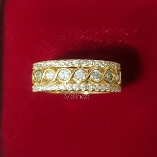 新品 インフィニティ ∞ エタニティリング 高品質 AAA CZ ダイヤモンド (リング(指輪))
