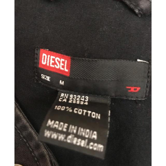 DIESEL(ディーゼル)のDIESEL ライダースUSED加工ジャケット レディースのジャケット/アウター(ライダースジャケット)の商品写真