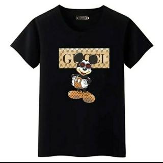 GUCCI柄ミッキーマウス柄Tシャツ(Tシャツ(半袖/袖なし))