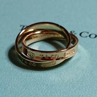 ティファニー(Tiffany & Co.)の☆お値下げ☆ティファニー インターロッキングサークルリング ゴールド 750☆(リング(指輪))
