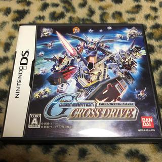 バンダイ(BANDAI)のガンダム GGENERATION CROSS DRIVE DS ゲーム ソフト(携帯用ゲームソフト)