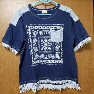 キューブシュガー(CUBE SUGAR)のキューブシュガー インディゴTシャツ(Tシャツ(半袖/袖なし))
