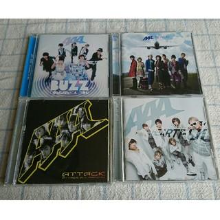 トリプルエー(AAA)のAAA CD 4枚セット(ポップス/ロック(邦楽))