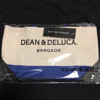 ディーンアンドデルーカ(DEAN & DELUCA)のバンコク限定 Sサイズ DEAN&DELUCA トートバッグ ブルー 青(トートバッグ)