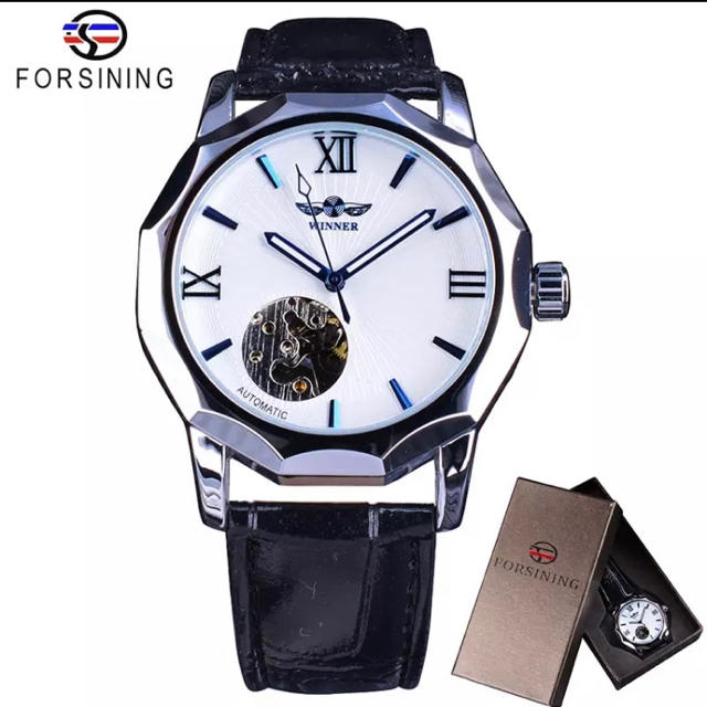 時計 の値段 、 腕時計 スケルトン ブルー 自動巻きの通販 by クリボー's shop|ラクマ