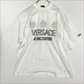ヴェルサーチ(VERSACE)のヴェルサーチ メデューサ Tシャツ ホワイト(Tシャツ/カットソー(半袖/袖なし))